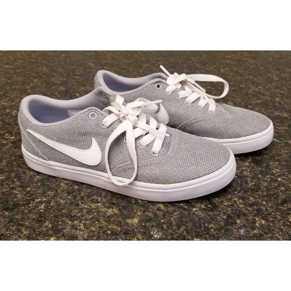 Nike SB Check Solarsoft Grey Shoes
